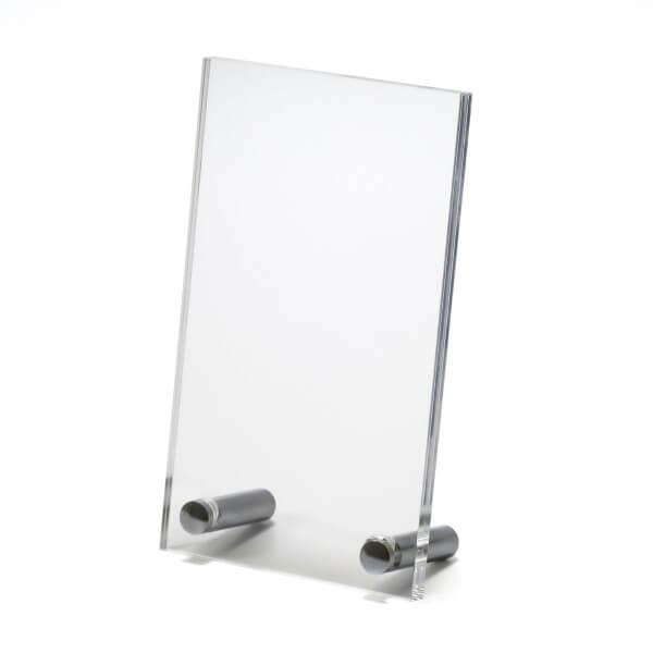Acrylglas Tischaufsteller DIN A6
