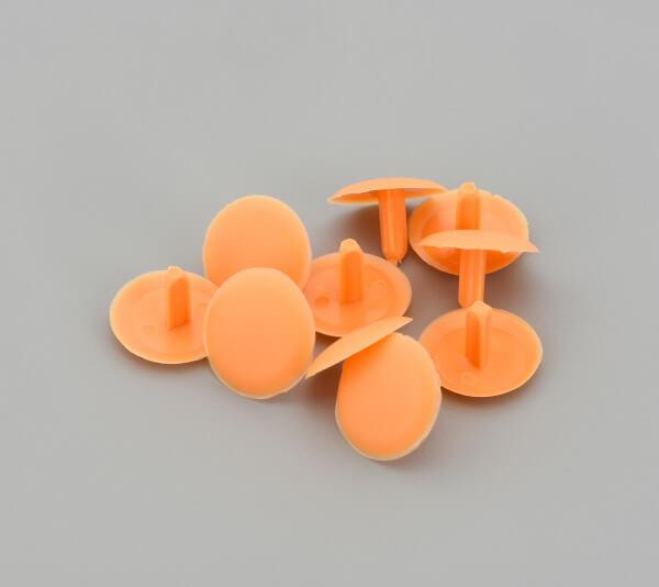 Kopfloch Schrauben Abdeckkappe Orange