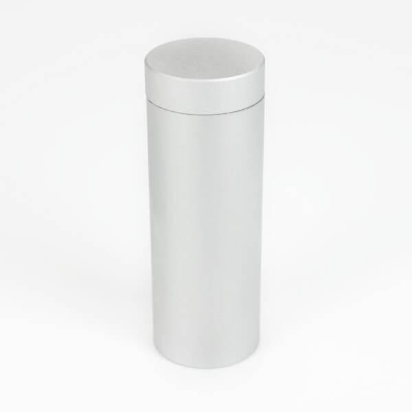 Alu Abstandshalter 20 mm x 50 mm in satiniert