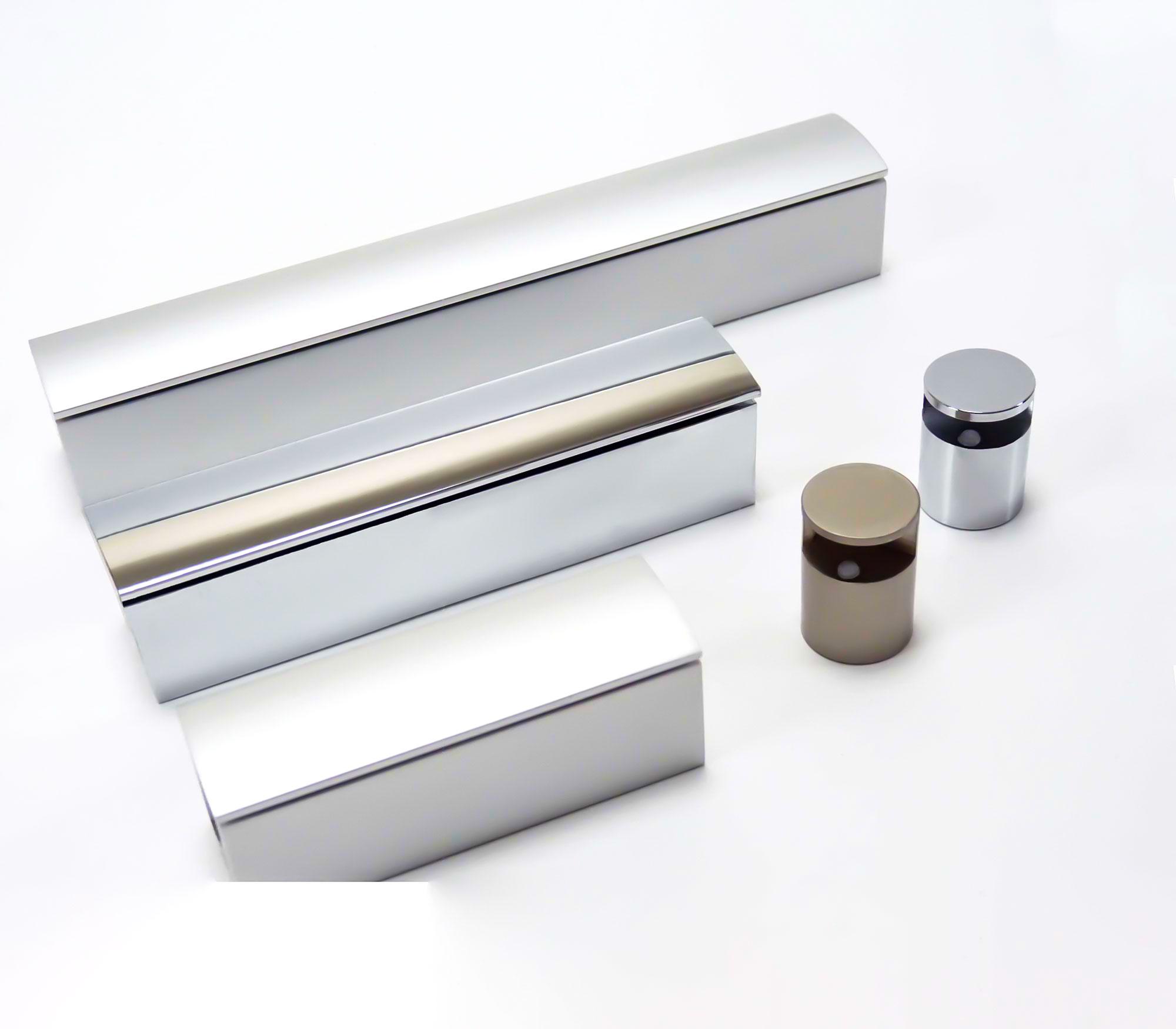 Super Klemmbefestigungen für Schilder und Platten aus Glas & Acrylglas RI24