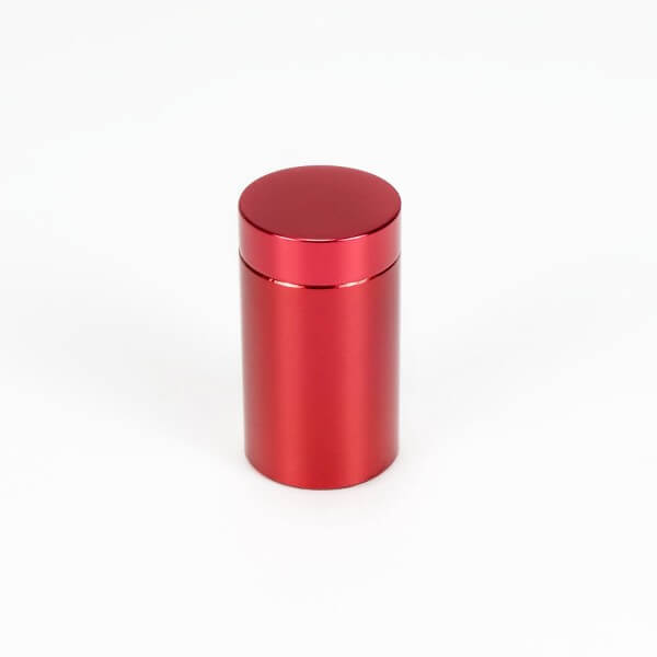 Alu Abstandshalter 13 mm x 19 mm in Rot