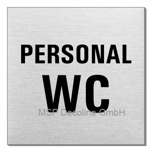 Piktogramm Personal WC 70x70 mm