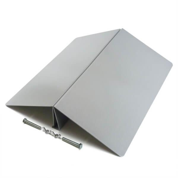 Schild Aufsteller Stahl 600mm Breit