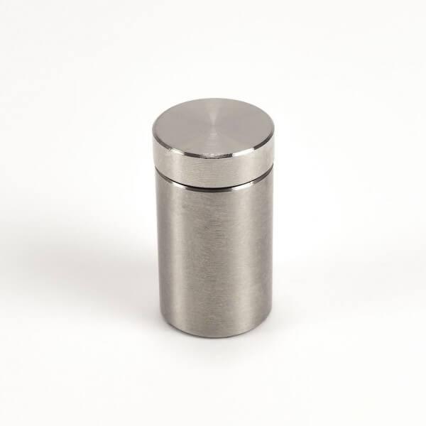 Schraubbarer Abstandshalter aus Edelstahl 13 x 20 mm