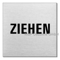 Piktogramm Ziehen 70x70 mm