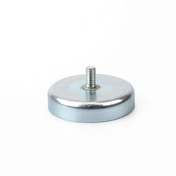 Magnet Schilderhalter klein mit Gewinde