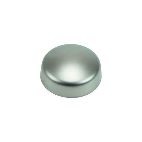 Schrauben Abdeckkappe mattchrom silber 13mm