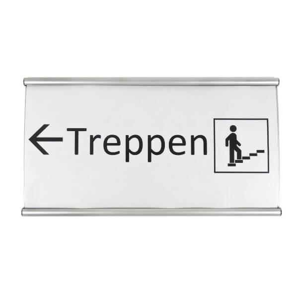 Elegance Line Schild Treppenhaus