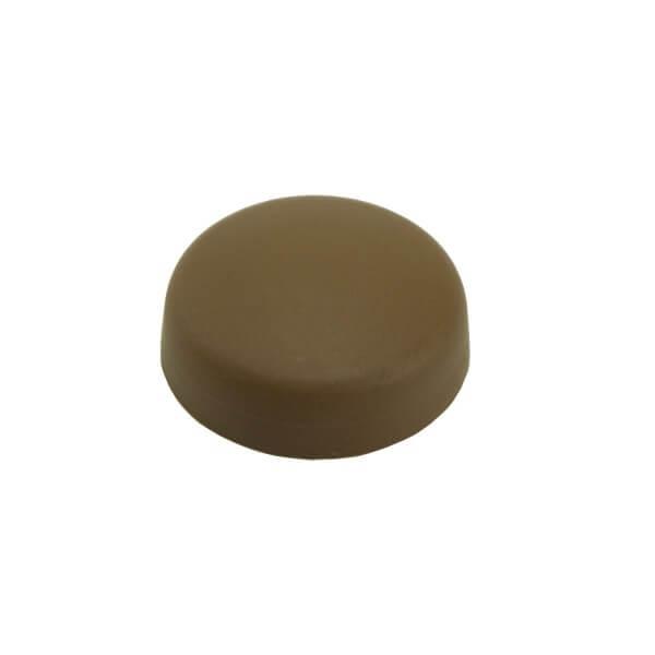 Schrauben Abdeckkappe 13 mm Braun Mahagoni