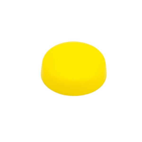 Schrauben Abdeckkappe 13 mm Gelb