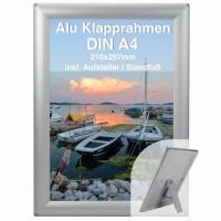 Alu Klapprahmen DIN A4 Opti Frame®