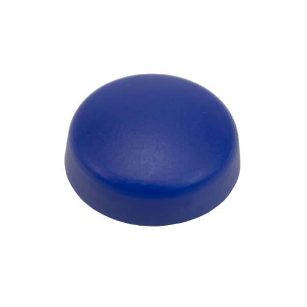 Schraubenkappe blau 16mm