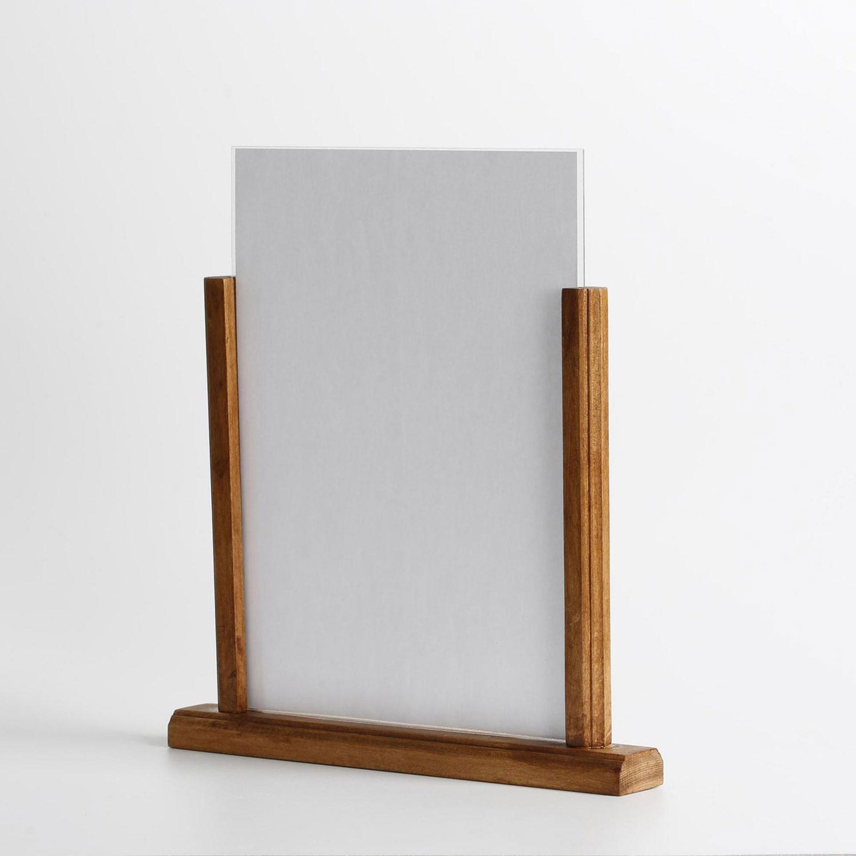 Häufig Holz Tischaufsteller | Tischaufsteller | Schilder Präsentation EM32