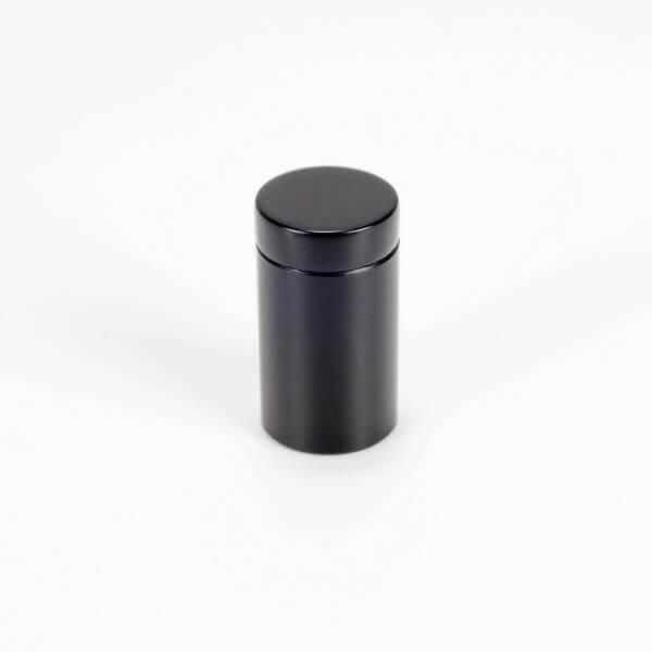 Alu Abstandshalter 13 mm x 19 mm in Schwarz