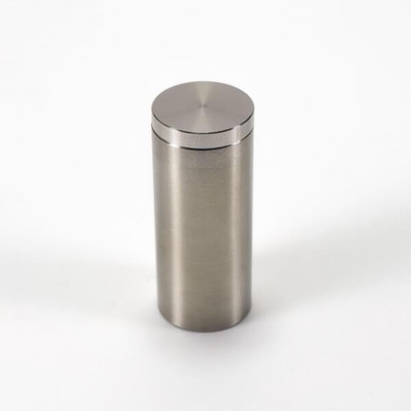 Metall Schilderhalter aus Edelstahl 18 x 40 mm