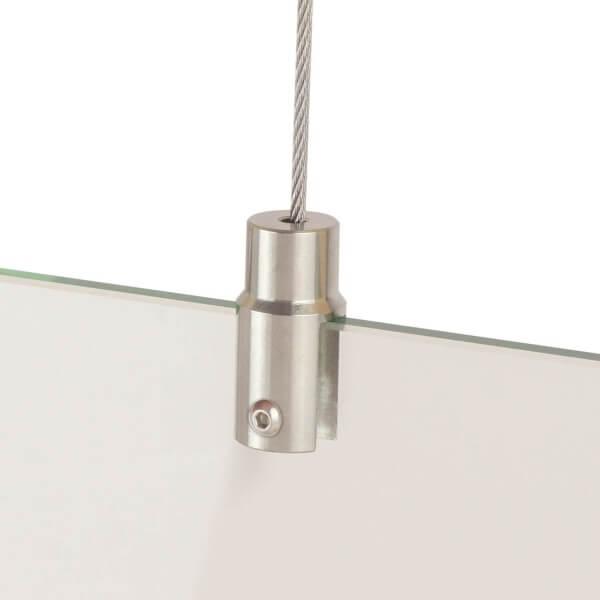 Platten Display-Halter 12 mm aus Edelstahl