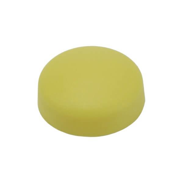 Schrauben Abdeckkappe 16 mm Dunkel Gelb
