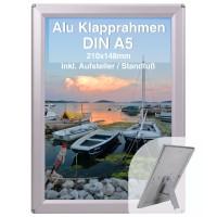 Alu Klapprahmen DIN A5 Opti Frame®
