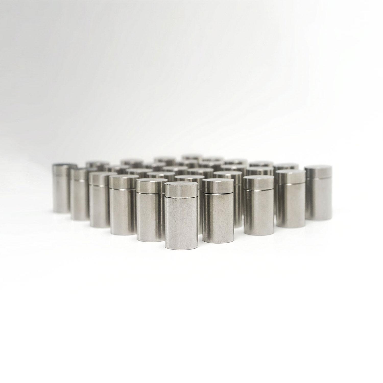 v2a edelstahl abstandshalter schraubbar 13 mm x 20 mm. Black Bedroom Furniture Sets. Home Design Ideas