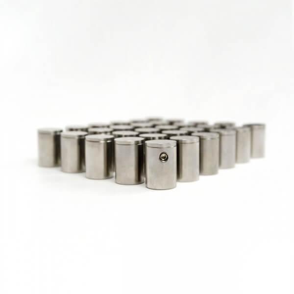 Edelstahl Abstandshalter 15 x 20 mm Made im 100er Pack