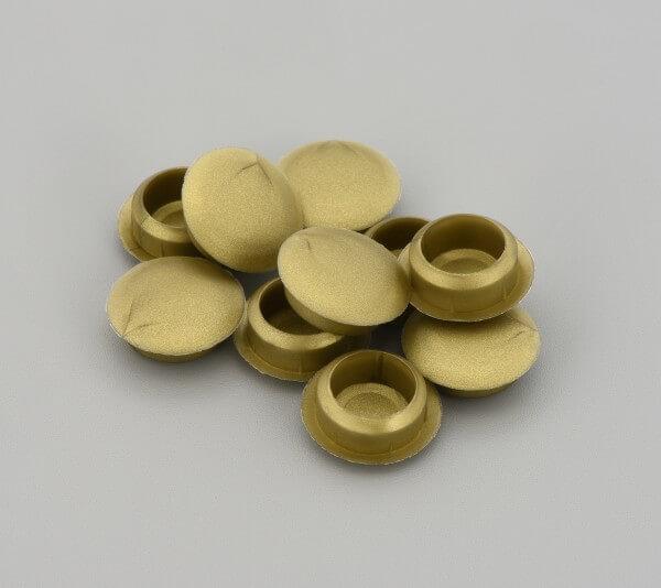 Bohrloch Abdeckkappe 10mm Messing