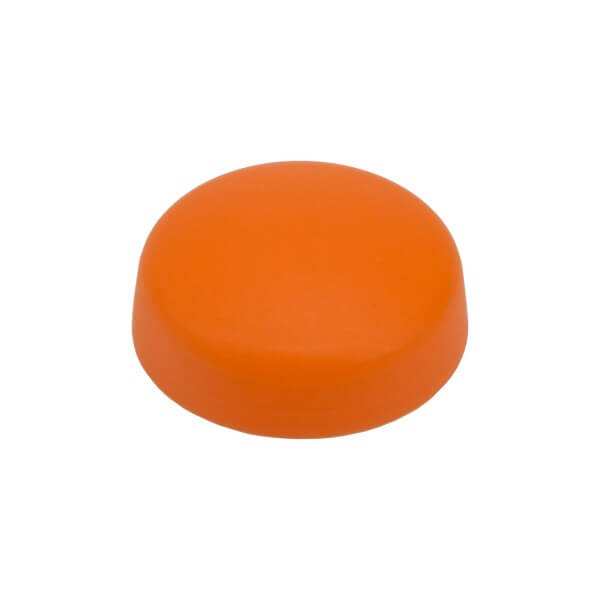 Schraubenkappen dunkel orange 16mm