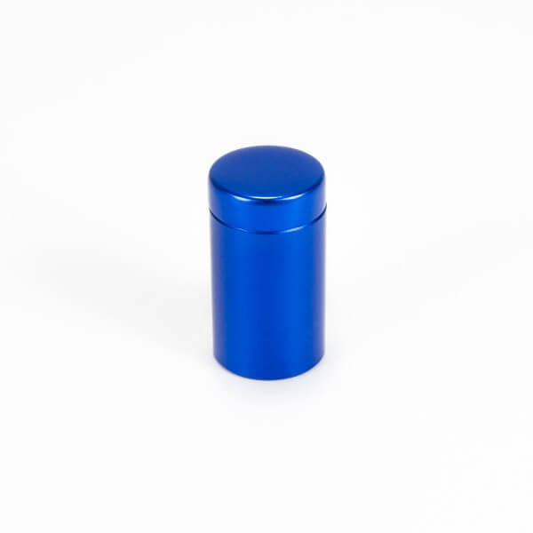 Alu Abstandshalter 13 mm x 19 mm in Blau