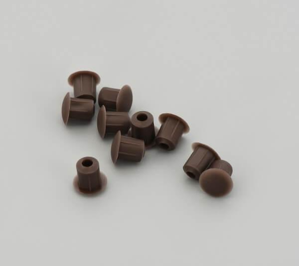 Bohrloch Abdeckkappe 5mm Bronze