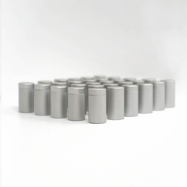 Alu Abstandshalter Schraubbar Silber Matt 13 x 20 mm im 100er Pack