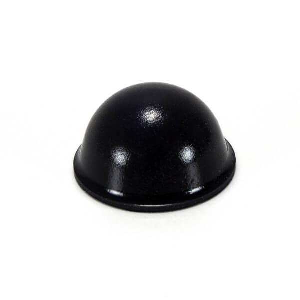 Wandpuffer aus Gummi schwarz