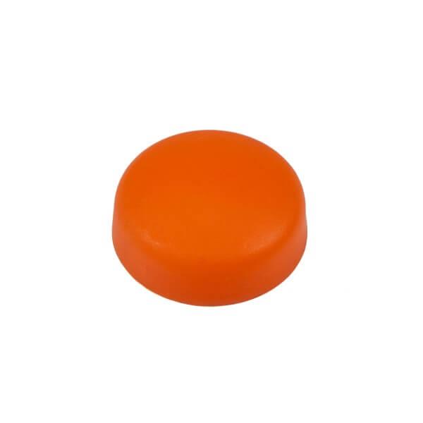 Schrauben Abdeckkappe dunkel orange 13mm